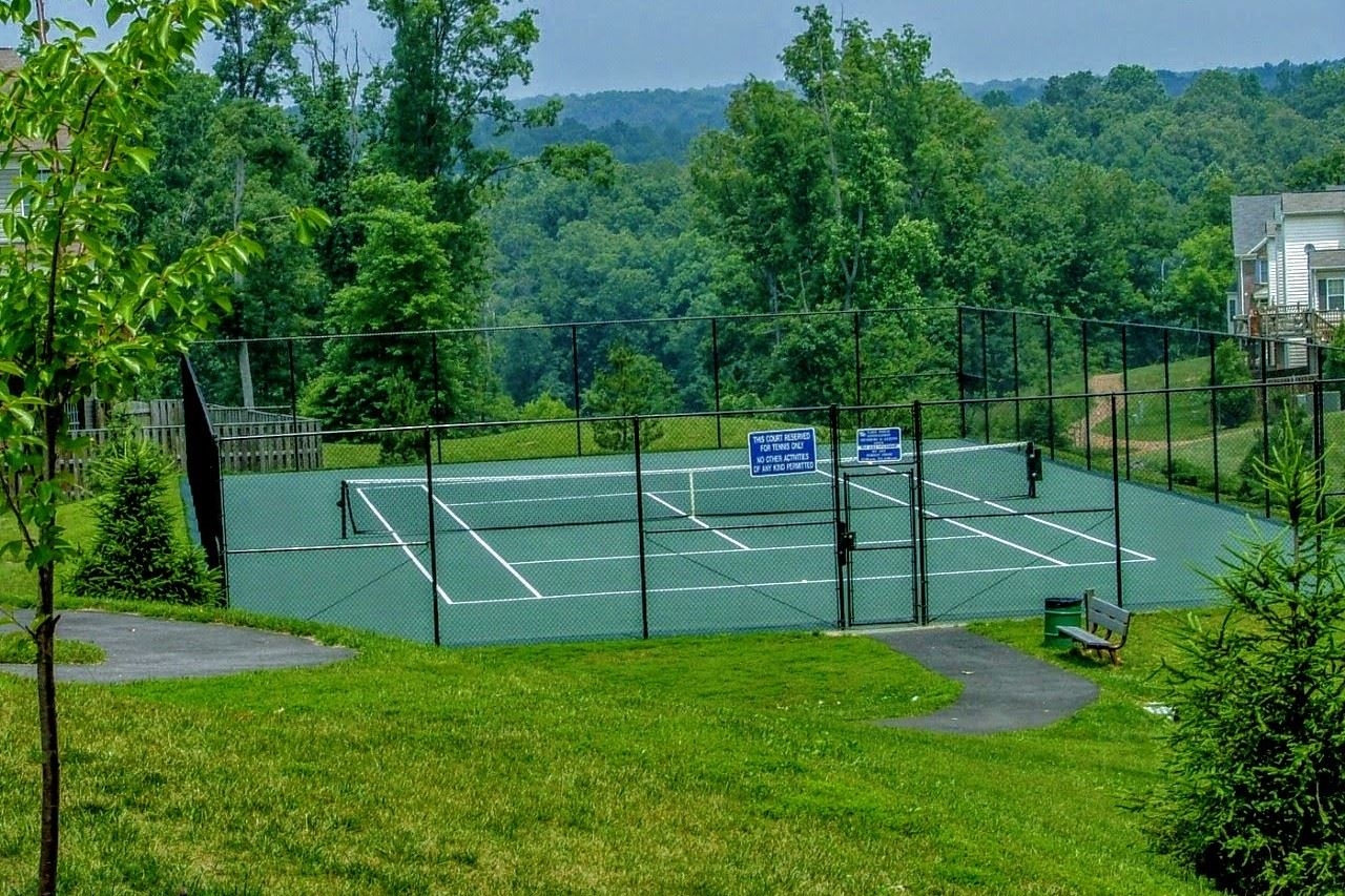 Tennis Courts - Springwoods Tennis Court Crop