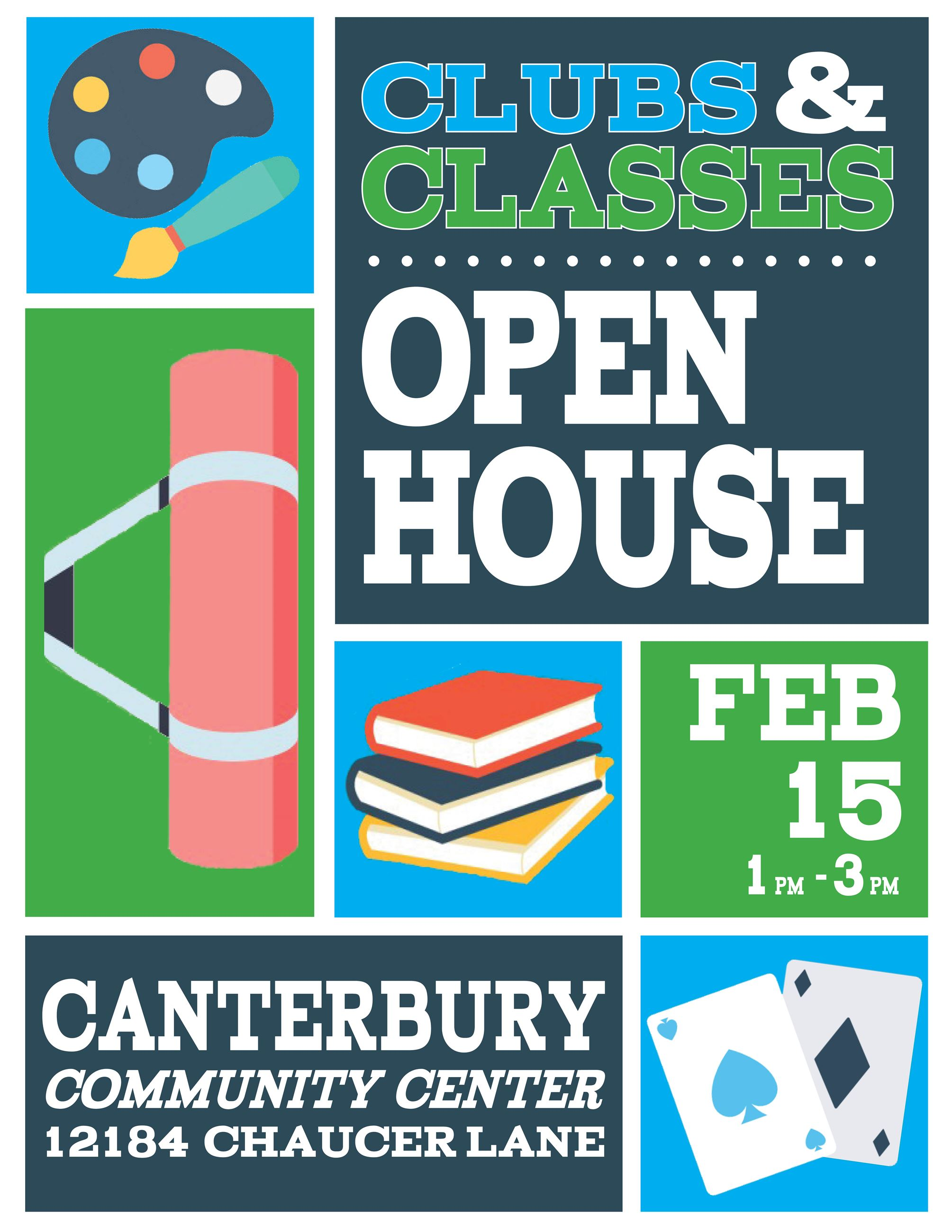 Clubs Classes Open House