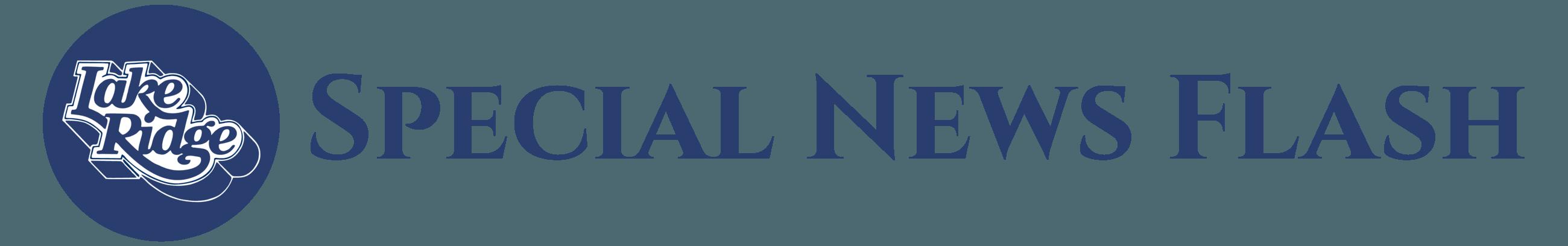 Special News Flash Header